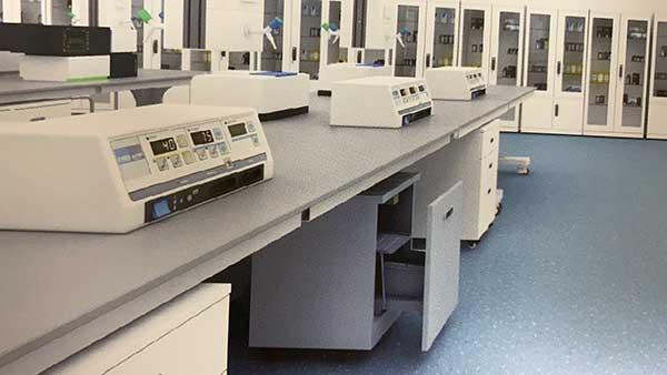 实验台废液收集箱