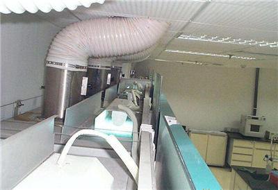 通风柜风管维修图片